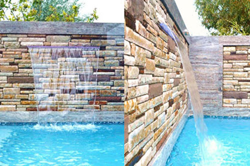 Pool Feature Wall Project